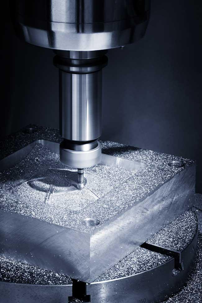 Hi Precision Milling Machine at De Perini