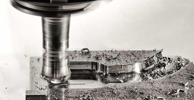 Precision milling machine at De Perini